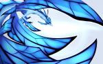 2018 ambiguous_gender blue_wings claws digital_media_(artwork) dragon feral frygia simple_background solo white_background wings