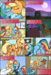 2013 applejack_(mlp) barn basket bed bedroom blonde_hair blue_fur blush brown_fur clothing comic cowboy_hat cub curtains cutie_mark digital_media_(artwork) dress english_text equine eyes_closed female female/female fence feral fireplace flower freckles friendship_is_magic fur green_eyes grey_hair hair half-closed_eyes happy hat holding inside kissing lying mammal moon multicolored_hair my_little_pony on_back on_front on_top one_eye_closed orange_fur outside pegasus photo picnic plant purple_eyes rainbow_dash_(mlp) rainbow_hair ratofdrawn ring sitting smile standing tears text tree wedding window wings young  Rating: Safe Score: 6 User: lemongrab Date: November 08, 2013""