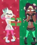 cephalopod christmas gift holidays inkling marina_(splatoon) marine nintendo not_furry octoling pearl_(splatoon) splatoon splatoon_2 surprise video_games warioeagRating: SafeScore: 0User: WarioEAGDate: December 13, 2017