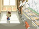 animal_crossing anthro blush cat clock feline female flag katie_(animal_crossing) mammal nintendo train_station video_games young   Rating: Safe  Score: 5  User: Juni221  Date: March 08, 2014