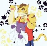 anthro blush cat cute feline male male/male mammal meow morenatsu shin_(morenatsu) tiger torahiko_(morenatsu)  Rating: Safe Score: 1 User: Lionxie Date: March 20, 2016