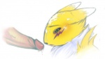 anthro canine cum cum_on_face cum_on_head digimon disembodied_penis duo female fox fur humanoid_penis male male/female mammal messy penis renamon sex white_fur yellow_fur   Rating: Explicit  Score: 5  User: VideoGames  Date: April 05, 2012