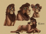 brown_fur disney feline feral fur green_eyes kovu lion male mammal mareishon simple_background solo the_lion_king yellow_sclera  Rating: Safe Score: 5 User: Smote20XX Date: April 29, 2016
