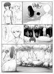 abubu big_breasts breasts comic female human japanese_text kappa male mammal manga monochrome nipples nude pointy_ears river text translated   Rating: Questionable  Score: 2  User: wous  Date: July 07, 2014