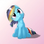 2015 alternate_color behind-space blue_feathers blue_fur blush cute equine feathered_wings feathers female feral friendship_is_magic fur looking_at_viewer mammal my_little_pony nude pegasus purple_background rainbow_dash_(mlp) simple_background sitting solo wings  Rating: Safe Score: 14 User: Robinebra Date: August 12, 2015