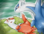 blush cum doneru duo female feral incest latias latios legendary_pokémon male nintendo penetration penis pokémon pussy rubbing sex sibling size_difference straight tapering_penis tears vaginal video_games   Rating: Explicit  Score: 9  User: Luminocity  Date: January 25, 2014