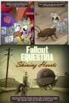 2013 comic dialogue english_text equine fallout_equestria female friendship_is_magic giraffe horn horse machine madmax mammal my_little_pony pony rarity_(mlp) robot sweetie_bot text unicorn  Rating: Safe Score: 7 User: alfredofroylan Date: December 22, 2013