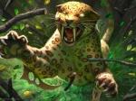 blade claws daniel_ljunggren fangs feline glowing glowing_eyes leaves leopard magic_the_gathering mammal solo  Rating: Safe Score: 6 User: Shardshatter Date: September 21, 2015