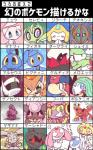 2017 ambiguous_gender arceus azelf blush celebi darkrai deoxys diancie eyes_closed genesect hoopa japanese_text jirachi keldeo legendary_pokémon magearna manaphy marshadow meloetta mesprit mew nettsuu nintendo one_eye_closed open_mouth phione pokémon pokémon_(species) shaymin shaymin_(land_form) shaymin_(sky_form) text tongue translated uxie victini video_games volcanion wink