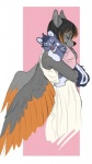 amaï_(character) anthro avian baby bird blue-grey_fur brown_hair canine caring clothing cute dark daughter demicoeur digital_media_(artwork) dress duo eagle eyes_closed feather female fluttershyspy fur grey_feathers hair hybrid iris_(character) little_shewolf mammal mix mother open_mouth orange_feathers orange_hair parent skunk sleeping smile snout two_tone_hair wall white_fur wings wolf young   Rating: Safe  Score: 11  User: Little_shewolf  Date: October 01, 2014