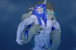 abs anthro beard biceps bite black_claws black_nose blood blue_eyes blue_hair brown_fur brown_hair canine cum death_knight duo elf facial_hair fur gasp glowing glowing_eyes hair handjob hug humanoid interspecies long_hair male male/male mammal muscles night_elf nude open_mouth orange_eyes orgasm patto pecs sex undead video_games warcraft were werewolf wolf worgen world_of_warcraft yellow_eyes   Rating: Explicit  Score: 18  User: Der_Traubenfuchs  Date: March 23, 2012