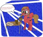 2012 ask_pun box brown_hair bubble cutie_mark english_text equine female feral food friendship_is_magic green_eyes hair horse humor magnifying_glass mammal muffin my_little_pony pie pipe pony pun_pony table text tumblr  Rating: Safe Score: 1 User: securitywyrm Date: March 09, 2012""