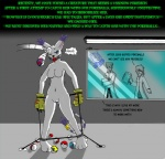 angry ball_gag bdsm bondage bound breasts cat cavy claws data_files digimon feline female gag gagged gatomon herseio hit human master_ball nintendo nude pokémon pussy restrained scientist spreader_bar study video_games   Rating: Explicit  Score: 5  User: derasit  Date: November 13, 2013