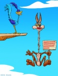 2012 anthro avian bird canine coyote draconis0868 duo falling holding_sign looney_tunes male mammal meme rage_guy roadrunner roadrunner_(looney_tunes) sign text toony trollface warner_brothers wile_e._coyote wings   Rating: Safe  Score: -2  User: slyroon  Date: October 15, 2012