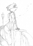 anthro canine chochi clothing fox greyscale hood jacket lamp long_tail lovely_pets male mammal mike_blade monochrome outside pants rolled_up_sleeves sketch solo wind   Rating: Safe  Score: 4  User: Propoleum  Date: July 06, 2010