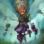 1:1 aircraft ball_stretcher ballbusting balloon balls bdsm blizzard_entertainment bodily_fluids bondage bound breast_torture breasts buttplug chain cock_and_ball_torture cum elf fire genital_fluids genital_torture genitals goblin green_body green_skin gynomorph hi_res hot_air_balloon humanoid humanoid_genitalia humanoid_penis intersex intersex/intersex masturbation night_elf nipple_piercing nipples pain penis piercing purple_body purple_skin rope rope_bondage salaciouscarnival sex_toy slave torture video_games warcraft weights whip whipping