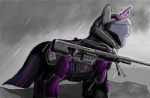armor crossover epic_pony_win equine female feral friendship_is_magic fur gun hair halo_(series) helmet horn mammal multicolored_hair my_little_pony odst purple_fur purple_hair ranged_weapon rifle sniper_rifle solo twilight_sparkle_(mlp) two_tone_hair unicorn unknown_artist video_games weapon