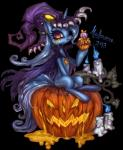2013 alpha_channel blue_fur bow candle cape cizu cupcake cutie_mark ear_piercing equine female feral fire flames friendship_is_magic fur hair halloween hat holidays horn horse jack_o'_lantern long_hair looking_at_viewer mammal my_little_pony open_mouth piercing plain_background pony pumpkin purple_eyes skull slime smile solo teeth transparent_background trixie_(mlp) two_tone_hair unicorn   Rating: Safe  Score: 8  User: Deatron  Date: November 11, 2013