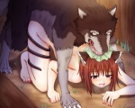 animal_humanoid bestiality blush brown_hair cat_humanoid chen cum duo fangs feline female feral hair hat humanoid interspecies mammal nekomata open_mouth red_eyes saliva short_hair source_request touhou unknown_artist  Rating: Explicit Score: 4 User: AnacondaRifle Date: September 29, 2015