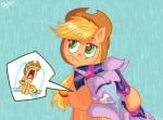 """2015 applejack_(mlp) crying duo equine eyes_closed female friendship_is_magic green_eyes horn jowybean mammal my_little_pony tears twilight_sparkle_(mlp) upset winged_unicorn wings  Rating: Safe Score: 9 User: 2DUK Date: May 05, 2015"""""""