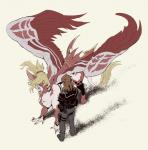 absurd_res alternate_species ambiguous_gender armor avian blonde_hair brown_hair clothed clothing duo fate_(series) feathered_wings feathers feral feralized green_eyes grin hair hi_res hippogryph hooves human jacket kairi_sisigou male mammal pants ponytail saber_of_red sharp_teeth short_hair slit_pupils smile tail_tuft takatsuki_nato teeth tuft wingsRating: SafeScore: 6User: OpilioneDate: July 27, 2017