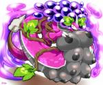<3 abstract_background anthro anthrofied big_breasts blush breasts claws dragon eyelashes female horn huge_breasts multi_breast purple_sky_fruit_grape_dragon puzzle_&_dragons scalie solo video_games yellow_eyes ymbk  Rating: Questionable Score: 3 User: chdgs Date: October 11, 2015