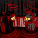 anthro bathtub black_hair black_sclera blood blood_bath canine dog duo fangs female fur ghost ghost_pupper glowing glowing_eyes gore grey_fur hair hladilnik long_hair male mammal nightmare_fuel nude open_mouth partially_submerged red_eyes rubber_duck sharp_teeth shower_curtain sitting sonicfox5000 spirit teethRating: ExplicitScore: 20User: hotwolf150Date: August 04, 2018
