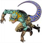3d_(artwork) ambiguous_gender blonde_hair blue_eyes boots bow cgi clothed clothing diego_brando digital_media_(artwork) dinosaur footwear gloves grin hair helmet human jojo's_bizarre_adventure long_hair looking_at_viewer low_res mammal markings official_art simple_background solo spurs stand_(jjba) transformation unknown_artist white_background  Rating: Safe Score: 3 User: Mutisija Date: January 17, 2016