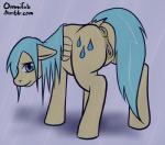 anus blue_hair cutie_mark equine female feral friendship_is_magic fur hair mammal my_little_pony omnifob pegasus pussy raindrops_(mlp) raining solo wet wings yellow_fur   Rating: Explicit  Score: 10  User: Falord  Date: July 14, 2013