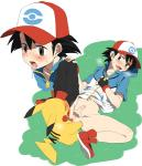 agemono anal anal_penetration ash_ketchum balls duo hat human interspecies male male/male mammal nintendo penetration penis pikachu pokémon poképhilia sex size_difference small_dom_big_sub uncut video_games   Rating: Explicit  Score: 10  User: Pokelova  Date: September 19, 2014