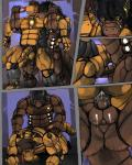 all_fours anal anal_penetration balls bandanna bound brown_hair cyborg digiknight dragon flaccid gay hair huge_muscles kiryu male mechanical penetration penis scalie sex uncut   Rating: Explicit  Score: 3  User: unforget  Date: February 27, 2014