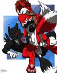 anal anal_penetration anthro anus backless_gloves balls bandai black_fur canine claws digimon duo eyewear fingerless_gloves fire_island_entertainment fox fur gloves goggles hair hi_res iudicium86 male male/male mammal maxamilion_the_fox muscles pawpads paws penetration penis red_fur renamon scarf sex teeth white_fur   Rating: Explicit  Score: 4  User: RollerCoasterViper59  Date: August 10, 2014