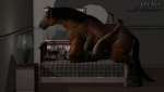 anal anal_penetration anthro anthro_on_feral bed bedroom bestiality big_dom_small_sub canine draft_horse drages duo equine feral hooves horse huge_insertion insertion inside interspecies large_insertion male male/male mammal on_bed penetration sex size_difference tight_fit   Rating: Explicit  Score: 12  User: drages  Date: September 02, 2011
