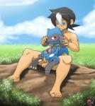 balls blue_eyes detailed_background duo feral happy happy_sex human interspecies kiv kivwolf male male/male mammal nintendo nude outside penis petting pokémon poképhilia riolu sex smile uncut video_games  Rating: Explicit Score: 23 User: Pokelova Date: April 28, 2016