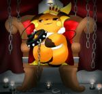 bondage_gear candle chain collar crown domination grin looking_at_viewer male nintendo pokémon raichu shimawani sitting solo throne video_games   Rating: Safe  Score: 9  User: Neitsuke  Date: September 29, 2013