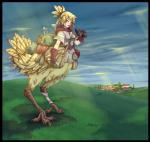 bag belt binoculars blonde_hair blue_eyes box building centaur chocobo city claws cloud equine feathers female gamera gloves hair human lantern mammal paper solo taur tree   Rating: Safe  Score: 3  User: mountainering  Date: April 15, 2014
