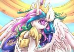 2015 absurd_res equine female feral friendship_is_magic hi_res horn lovelyneckbeard mammal my_little_pony princess_celestia_(mlp) solo winged_unicorn wings   Rating: Safe  Score: 18  User: Robinebra  Date: April 16, 2015
