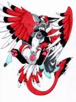 2015 anthro anthro_on_feral avian bestiality breasts cum cum_in_pussy cum_inside eyes_closed feathers female female_on_feral feral flying from_behind fur grey_fur gryphon knot male male/female nude penetration penis pussy red_feathers sex spread_legs spreading tierafoxglove vaginal vaginal_penetration wings  Rating: Explicit Score: 14 User: TonyLemur Date: November 06, 2015