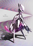 ambiguous_gender legendary_pokémon mecha mewtwo multicolored_background nintendo pokémon purple_background solo unknown_artist video_games   Rating: Safe  Score: 3  User: lalalalala  Date: May 02, 2010