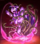 2015 absurd_res anal anal_penetration book bound double_penetration dripping equine female feral friendship_is_magic glowing hair hi_res hooves horn magic mammal my_little_pony open_mouth otakuap penetration purple_eyes pussy restrained slime solo spread_legs spreading tentacles twilight_sparkle_(mlp) underhoof vaginal vaginal_penetration winged_unicorn wings  Rating: Explicit Score: 26 User: lemongrab Date: July 24, 2015