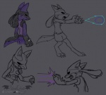 2014 anthro black_eyes black_fur blue_fur energy_blast fangs fur lucario male nintendo paws pokémon solo spikes vibrantechoes video_games   Rating: Safe  Score: 3  User: Blackphantom770  Date: February 21, 2014
