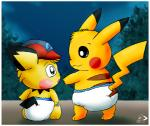 ash ashchu butt diaper fur hat nintendo padded pichu pichu90 pikachu pokémon video_games   Rating: Questionable  Score: 2  User: Babyashchu1/Ashchu1  Date: September 16, 2013