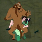 beast_(disney) beauty_and_the_beast belle book duo female holding_book human interspecies male male/female mammal multitasking sex size_difference unknown_artist   Rating: Explicit  Score: 7  User: jimfoxx  Date: September 20, 2012