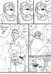 ape barman bear beard bulge clothing comic cute duo erection facial_hair fatcock fatdick flaccid gorilla hairy humor husky92 josh mammal manly monkey peeing penis piercing primate teasing underwear urine wolfdave young  Rating: Explicit Score: 3 User: fmh94 Date: July 17, 2015