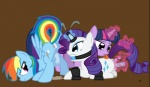 anal anal_beads anal_penetration ball_gag bdsm buttplug cutie_mark dildo equine female female/female feral friendship_is_magic gag group group_sex hair horn insertion licking mammal multicolored_hair my_little_pony pegasus penetration pussy pussy_juice rainbow_dash_(mlp) rainbow_hair rarity_(mlp) sex sex_toy signature threesome tongue tongue_out twilight_sparkle_(mlp) unicorn wings   Rating: Explicit  Score: 10  User: Vixxxine69  Date: July 28, 2012