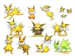 eeveelution feral hi_res japanese_text jolteon nintendo pokémon simple_background tagme text video_games white_background  Rating: Safe Score: 4 User: UneasyEspeon Date: March 12, 2016