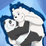 anal bear blush dancing duo erection graft_(artist) ice_bear incest male male/male mammal panda panda_(character) smile we_bare_bears  Rating: Questionable Score: 2 User: zidanes123 Date: September 23, 2015