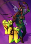 anthro anthrofied areola ball_gag big_breasts bound breasts captured changeling cleavage clothed clothing collar crown cutie_mark duo ear_piercing equine erect_nipples evil_grin fan_character female friendship_is_magic gag green_eyes green_hair grin hair horn horse leash long_hair mammal my_little_pony nipples open_mouth piercing pony queen_chrysalis_(mlp) red_eyes sheela smile torn_clothing two_tone_hair whip wings   Rating: Explicit  Score: 13  User: Robinebra  Date: January 16, 2013