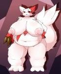 big_belly big_breasts breasts chubby claws female fur huge_breasts hyper hyper_breasts nintendo pokémon solo thick_thighs video_games white_fur zangoose   Rating: Explicit  Score: 8  User: voldosbt  Date: February 25, 2014