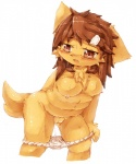 blush breasts brown_eyes brown_hair canine clothing cute dog female hair kemono loli long_hair mammal nipples open_mouth panties pussy solo underwear urine wahitouppe young   Rating: Explicit  Score: 2  User: KemonoLover96  Date: May 19, 2015